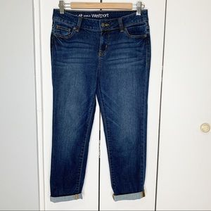 Westport Signature Ankle Girlfriend Jeans Size 6P